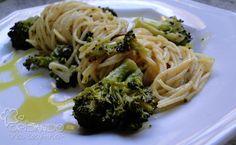 Brisando na Cozinha: Espaguete com brócolis ao forno
