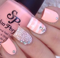 Most Fabulous Square Nail Designs Just for You Pastel Color Nails, Pink Nail Art, Pink Nails, Nail Colors, Gel Nails, Pastel Colors, Pastel Shades, White Nails, Light Colors