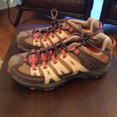 Merrell continuum hiking shoes. Size 7. Worn once Like new, worn once hiking shoes. Size 7 Merrell Shoes Athletic Shoes