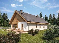 Murator C333u Miarodajny - wariant XVIII - zdjęcie 3 20 M2, Home Fashion, Cabin, House Styles, Home Decor, Cottage, Home, Decoration Home, Room Decor