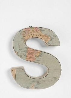 """""""S"""" is for Sandy."""