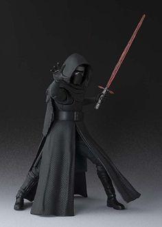 "Amazon.com: Star Wars The Force Awakens S.H. Figuarts Kylo Ren 6"" Action Figure: Toys & Games"