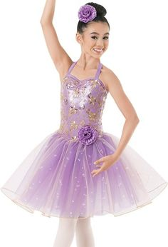Weissman™   Metallic Sequin Floral Tulle Dress