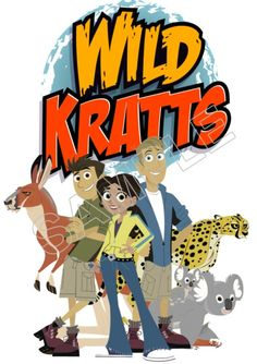 Wild Kratts T Shirt Iron on Transfer Decal #1