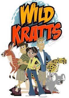 Wild Kratts T Shirt Iron on Transfer Decal #1