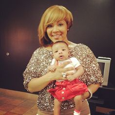 Erica Campbell (Mary Mary) with her new baby: Zaya