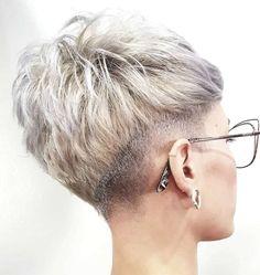 Sonia Short Hairstyles - 3 Cute Short Haircuts, Cute Hairstyles For Short Hair, Short Curly Hair, Short Hair Cuts, Curly Hair Styles, Undercut Hairstyles, Pixie Hairstyles, Really Short Hair, Hair Addiction