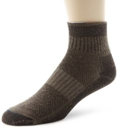 Wrightsock Men's Merino Trl Quarter 3 Pack Socks Wrightsock. $42.00. Perfect for trails, travel and the office. Mesh panel for breathability. Outer: 72% Merino Wool/24% Nylon/4% Lycra; Inner: 70% Polyester/30% Nylon. Stabilizer zone to help lock the sock in place. Machine Wash. The benefits of wool but it's not against your skin. A functional wool product designed in a lighter weight