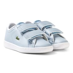 the latest b540e 8a894 Lacoste Pale Blue Infants Carnaby Velcro Trainers Stylische Kids,  Französische Mode, Säuglinge, Lacoste