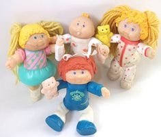 Vintage Cabbage Patch Kids Doll Figures Cabbage Patch Dolls. $24.99, via Etsy.