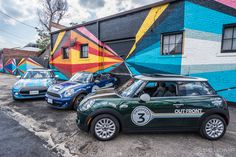 PrideFest MINI Cooper | Denver PrideFest 2015 | MINI in Denver | Custom MINI Cooper | MINI Art Cars | Denver Graffiti | Denver Street Art | Denver neighboorhoods | RiNo Denver | MINI Love | MINI Usa | Denver | Colorado | an original @Schomp MINI pin