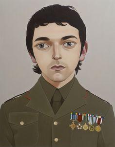 PETER STICHBURY, Untitled, (Dudley Benson) 2007 Acrylic on linen 83.5 x 106.4 cm