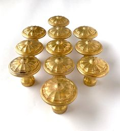 Vintage drawer knobs