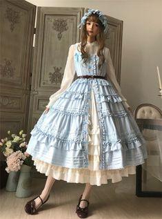 Mary~ Classic Front Open Design Lolita JSK -Pre-order
