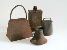 Vintage Cow Bell Collection - Rustic Farmhouse Chic