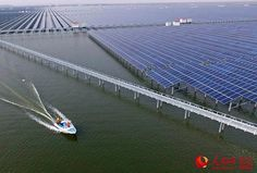 Welcome to Gabriel Atanbiyi Blog: Massive photovoltaic power station built on a fish...