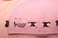 Pink Cupcake Hat by FunkyBsDesigns on Etsy, $7.99