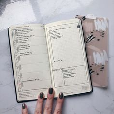 Bullet Journal 101, Bullet Journal Layout, Bullet Journal Inspiration, Bullet Journals, Bujo, Planners, Hobonichi Techo, Custom Planner, Passion Planner