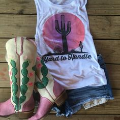 junk gypsy- Hard to handle boots and tank ❤️