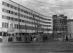 """1929 Gesundbrunnen,die """"Lichtburg"""" im Bau"""