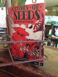 Vintage book 1935 the story of seeds ephemera garden by Verbayna, $6.00