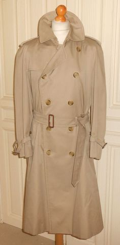 CLOUD NINE Long Maxi Winter Rain Coat Mac Trench Riding Stockman ...