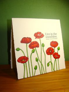 IC347 - Passionate About Poppies! by girlgeek101 - Cards and Paper Crafts at Splitcoaststampers