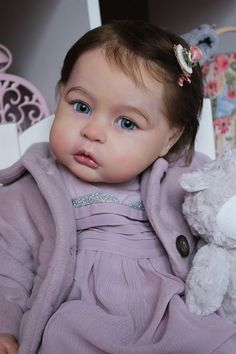 Charlotte at 1 Year by Tomas Duprat - Pre-Order - Online Store - City of Reborn Angels Supplier of Reborn Doll Kits and Supplies