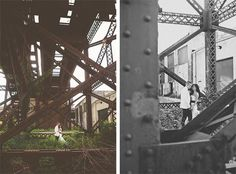 Creative wedding photography - urban glam wedding - St Louis - Hawes Photography