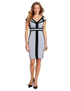 Jax Women's Tucked Jersey Dress, Ice/Black, 6 -- The dress is truly well made. - I would recommend it to anyone, you won't regret especially at what it is priced. - I'm a 36D but the size 14 is a little bit spacious. http://www.amazon.com/exec/obidos/ASIN/B0093F0P1W/electronicfro-20/ASIN/B0093F0P1W