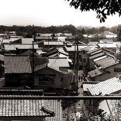街並み上賀茂神社からの眺め 今日も元気に楽しく  #kyoto #roof #京都 #屋根 #街並み #SINTO #fujifilm #xe2