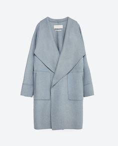 Image 11 of HAND MADE WOOL COAT from Zara