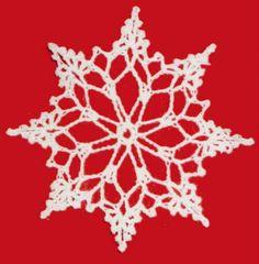 Christmas crochet thread ideas | ... Free Crochet » Snowflake Christmas Ornament – Free Crochet Pattern