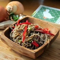 Soba Noodles With Veggies And Mustard Soy Dressing (via www.foodily.com/r/3970a08c90-soba-noodles-with-veggies-and-mustard-soy-dressing-by-greatist)
