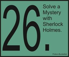 And, no, I'm not talkin' about the Robert Downey Jr. version of Sherlock. I'm talkin' about the Benedict Cumberbatch version, thank you very much. Bucket List Tumblr, Sherlock Holmes 3, Bucketlist Ideas, Enola Holmes, Fictional World, Fictional Characters, Robert Downey Jr, So Little Time, Book Worms