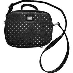 Pre-owned Handbag with polka dots ($530) ❤ liked on Polyvore featuring bags, handbags, preowned handbags, dolce gabbana purses, black and white polka dot handbag, pre owned handbags and shoulder strap handbags