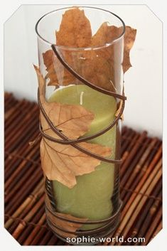 Fall table decor - simple, beautiful and...