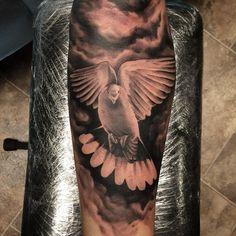 nice Top 100 dove tattoos - http://4develop.com.ua/top-100-dove-tattoos/ Check more at http://4develop.com.ua/top-100-dove-tattoos/