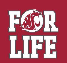 "Washington State University---  ""Once a Coug, Always a Coug!!!"""