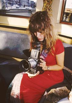 stevie nicks with hasselblad