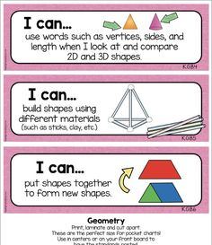 KINDErGARTEN I Can Statements - Objectives for ELA and Math - Adorable Posters for daily goals - try a page for FREE #kindergarten #kindergartencommoncore #backtoschool #icanstatements #kindergartengoals #kindergartenmath
