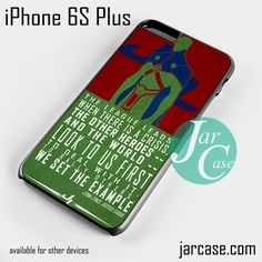 J'ONN Martian Phone case for iPhone 6S Plus and other iPhone devices