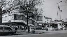 Dom Towarowy (PDT) in Mława, Poland by Stanisław Kolendo (1956)