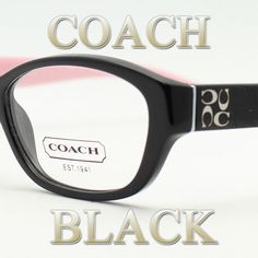 848cb05a57 Coach Frames 6002 Cecilia 5053 (Black) New
