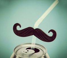 Moustache Straws, Perfect for Movember  Check it out at www.crnchy.com