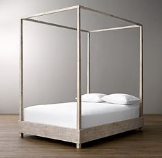 Madison - canopy bed option - Callum Platform Canopy Bed