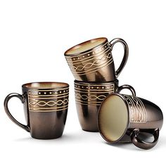 An Avon Exclusive! The Gourmet Basics by Mikasa Luciana Collection, a unique twist of mocha prints with embossed white dots, straight lines, and infinity loops. Guests will be mesmerized by the unique, eclectic presentation of the stoneware. Regularly $19.99, shop Avon Living online at http://eseagren.avonrepresentative.com