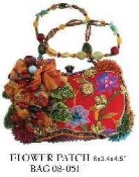 Mary Francis Floral Handbag