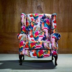Reid Wingback Chair Bay Isle Home Chair Upholstery, Upholstered Furniture, Wingback Chair, Armchairs For Sale, Fabric Armchairs, Indiana, Retro Armchair, Frida Art, Haul