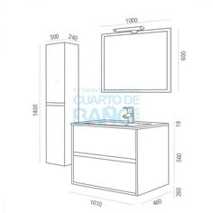 Dimensiones mueble de ba o ergonomia distancias medidas tama os y m s pinterest muebles - Altura mueble bano ...